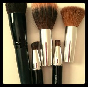 Set of 5 bare Minerals make-up💋 brushes 2 in 1